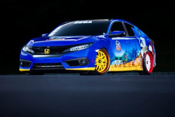 SEMA 2016 : Honda (cars)