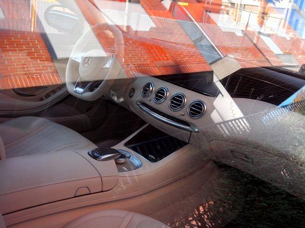 Mercedes classe S500 coupé