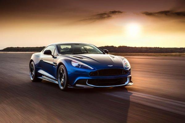 Los Angeles 2016 : Aston Martin Vanquish S