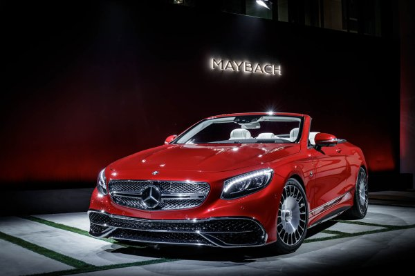 Los Angeles 2016 : Mercedes Maybach S650