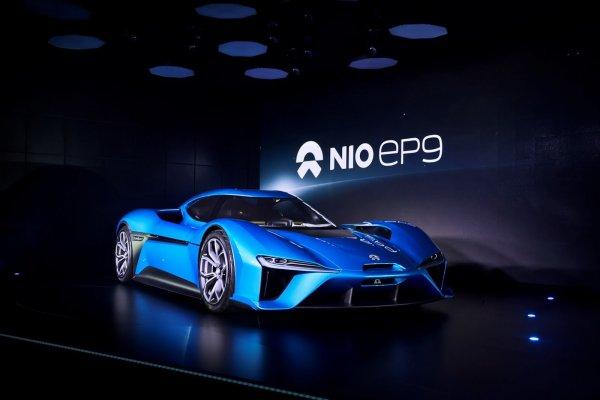 NextEV dévoile la NIO EP9 de 1360 ch
