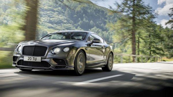 Detroit 2017 : Bentley Continental Supersports