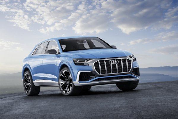 Salon de Detroit 2017 - Audi Q8 Concept : big is beautiful ?