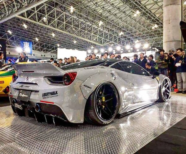 Ferrari 488 GTB by Liberty Walk