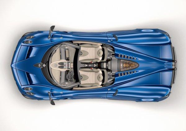 Genève 2017 : Pagani Huayra Roadster