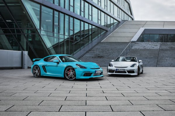 Porsche 718 Cayman & Boxster By TechArt