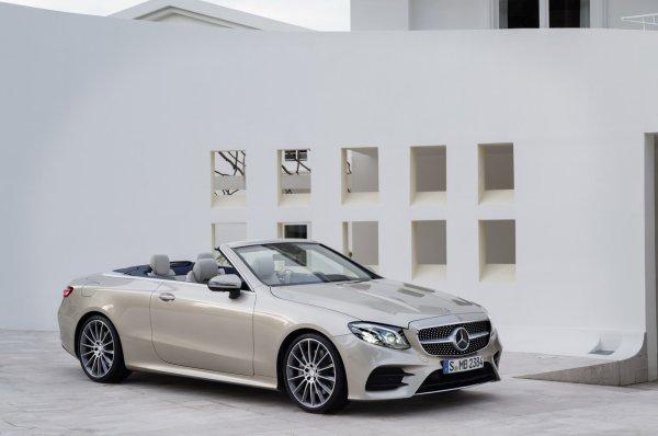 Genève 2017 : Mercedes Classe E Cabriolet
