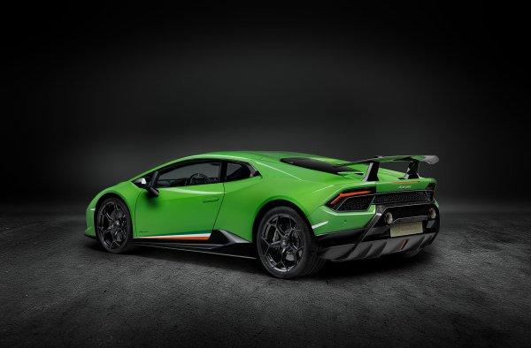 Genève 2017 : Lamborghini Huracan Performante