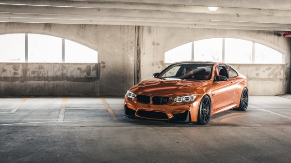 BMW M4 rose gold by Velos