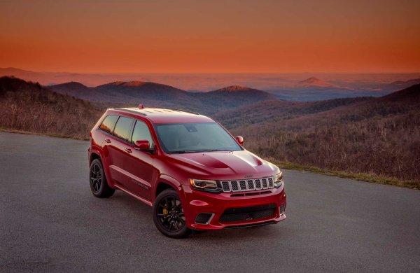 Jeep Grand Cherokee Trackhawk, ils l'ont fait!