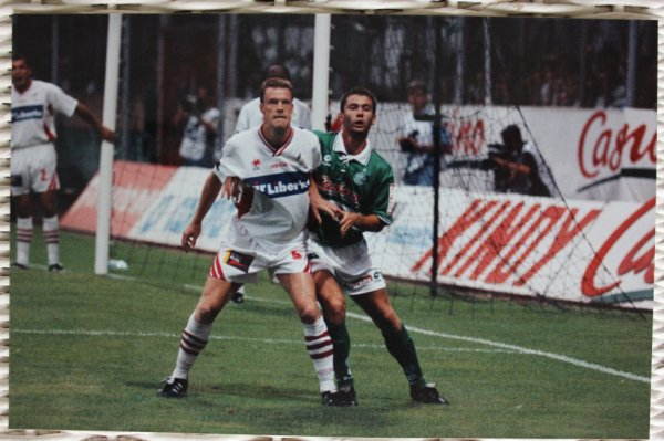 ASSE / LILLE au stade Geoffroy-Guichard Août 1995 photos perso