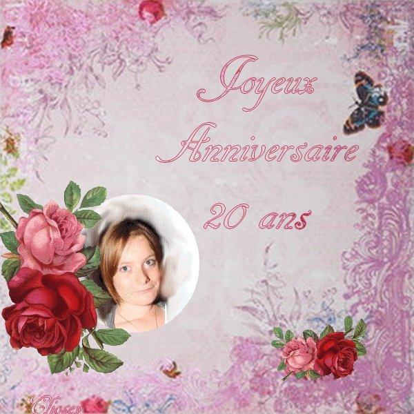 Joyeux Anniversaire A Ma Soeurette Vanessa My Family