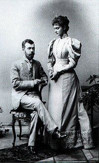 La rétissance d'Alexandre III à propos du mariage de Nicolas II
