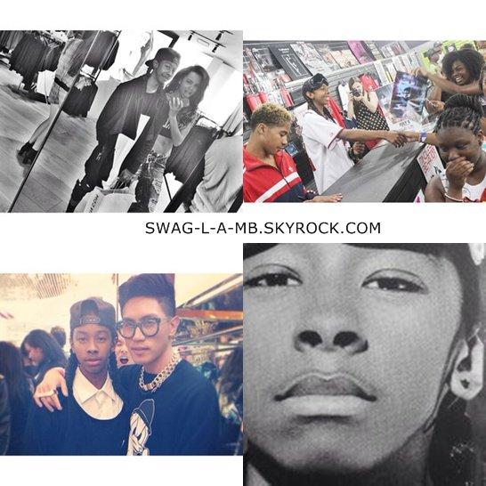 Instagram ♥ + Ray & Prince était à une fête de EnJoyrich, Roc était avec Desiree car c'était son anniversaire, Prodigy était avec ses amis.