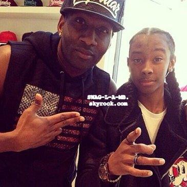 31/11/13. Ray avec le Beatboxeur Destorm.