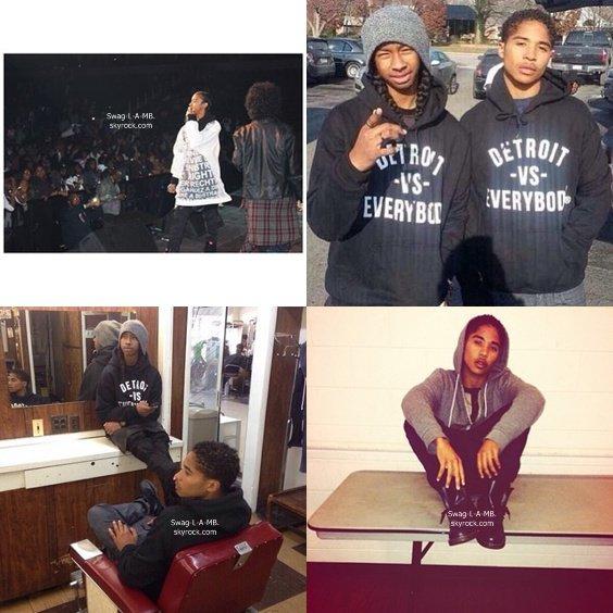 02/12/13. Instagram ♥ + Les garçons étaient en concert à Detroit.