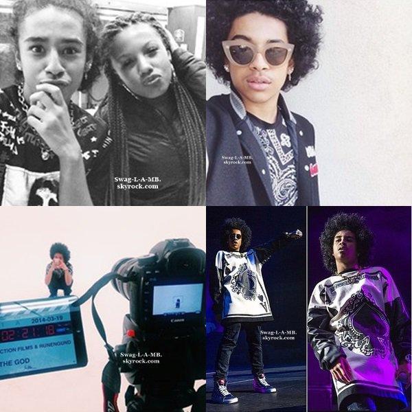 28/03/14. Instagram : Princeton a ajouté des photos + Des vidéos .