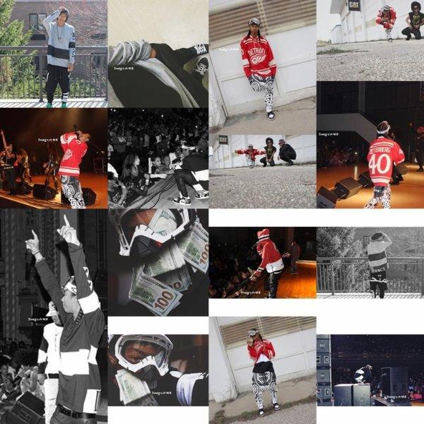 23/04/14. Instagram + Ray a posté des photos .