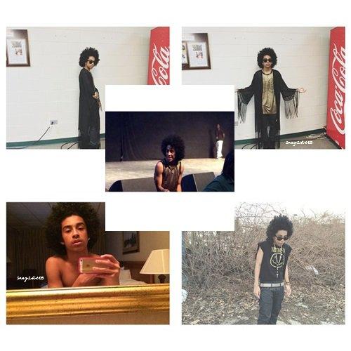 23/04/14. Instagram + Prince a posté des photos .