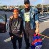 04/05/14. Instagram : Prodigy a passé une journée sportive avec son oncle .