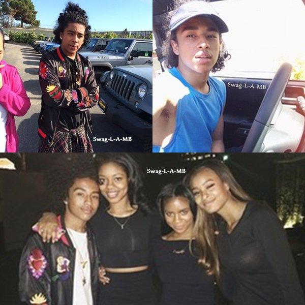 04/05/14. Instagram : Princeton était en soirée avec Rachel et d'autres amis .