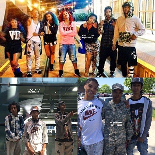 04/06/14. Instagram : #TeamMB and #TeamOMG . Les MB étaient en tournée avec les OMG Girlz .