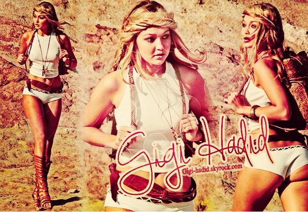 ɤ Suivez toute l'actu' de la belle Gigi Hadid !