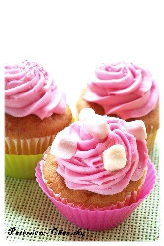 .Cupcake à la Guimauve.