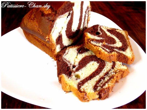 .Gâteau Marbré.