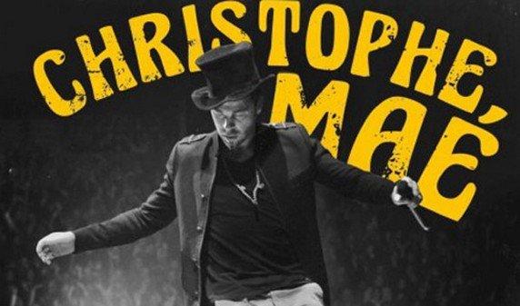 """Christophe Maé entre n°1 du Top Albums avec """"On trace la route - Le live"""""""