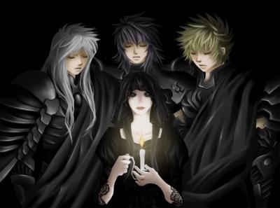 les trois juges et pandora