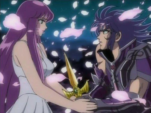 Saga obliger de tuer Athéna