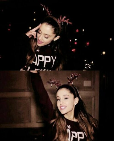 Ariana lors de son pasage a disney + photo de son new clip