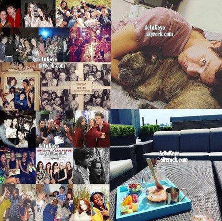 22/24.05.2016 - Kaya a posté des photos sur Instagram