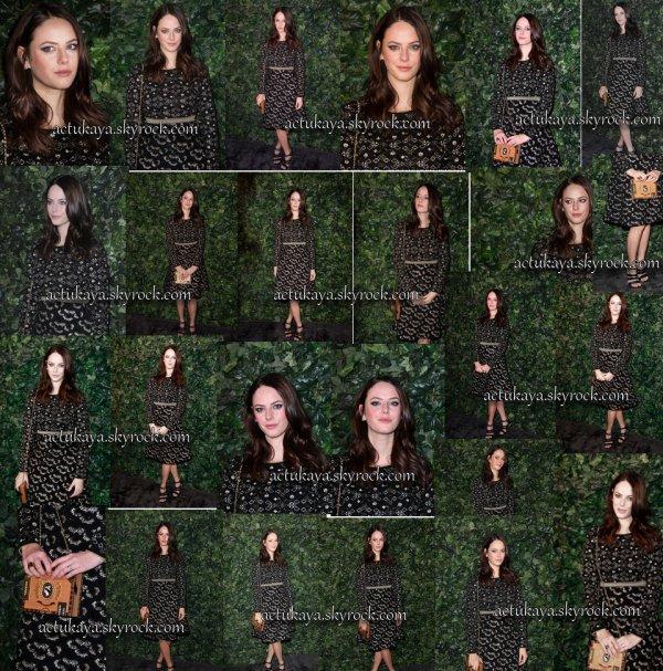 11.02.2017 -  Kaya à la soirée Pre-BAFTAs de Charles Finch & Chanel, à Londres.
