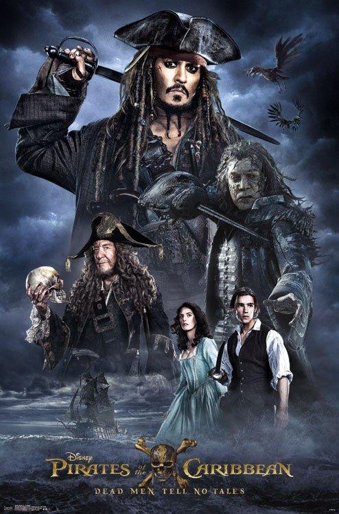 Nouvelles affiches promotionnelles de #PiratesDesCaraïbes