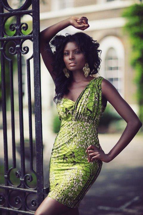 Robe Glamour Africain !