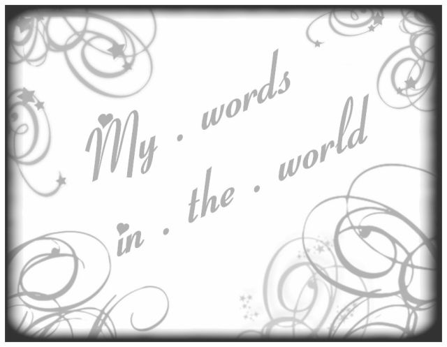 Blog de mywordsintheworld