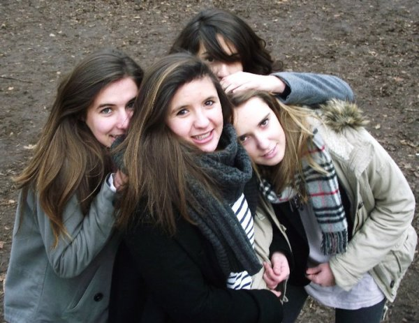 Ambre, Tifenn, Cynthia & Claire en 2nd7