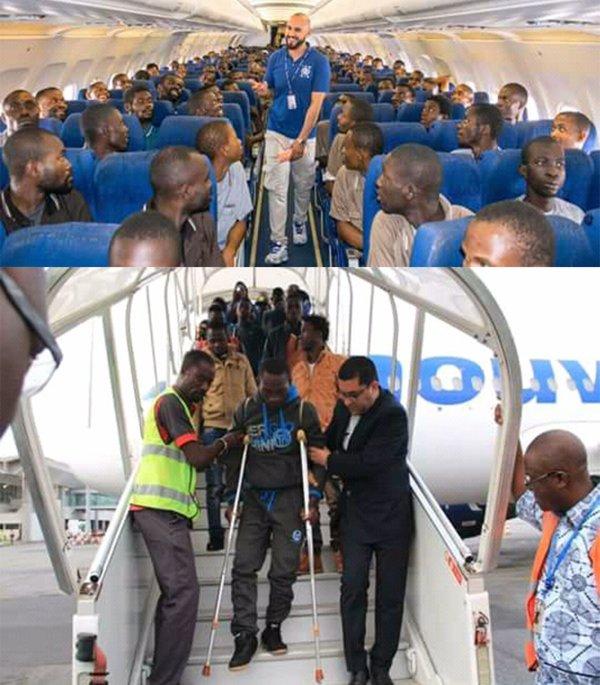 Images Directe de nos reporters retour de migrants