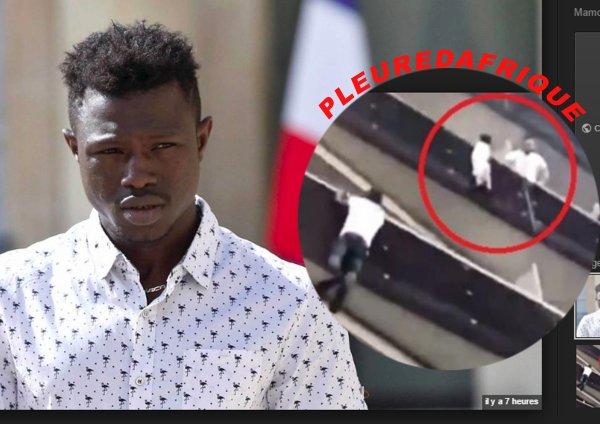 Un jeune Malien de 22 ans n'a pas hésité à grimper la façade pour sauvé un enfant pendu dans le vide et cela en France,  bravo frére de la par de Pleuredafrique France