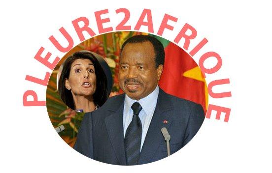 Au Cameroun: Le régime Biya reçoit un ultimatum de L'ambassadrice américaine à l'ONU, voici les détails...Bravo