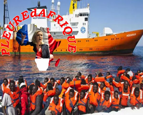 MARINE LE PEN la honte de la France ,elle veux profité  de la faiblesse des français ignorant ,pour toujours cherché ces voix