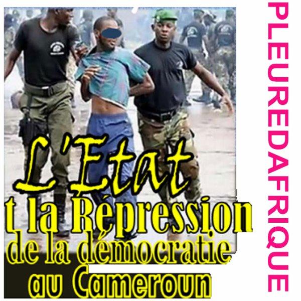 Cameroun l états est criminel contre sont peuple que fait la communauté international du bla bla comme toujours