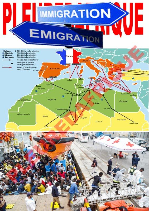 La France et les autres pays européens endossent une grosse responsabilité dans cette crise migratoire