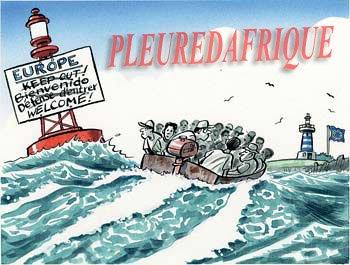 """Migrants : """"Il faut les encourager à rester chez eux"""", dit Brice Hortefeux"""