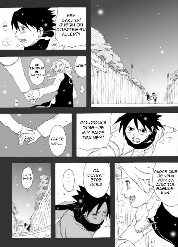 Doujin SasuSaku : Snow