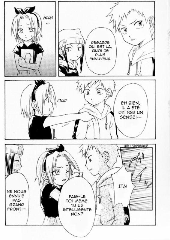Doujin SasuSaku : Awai Hana