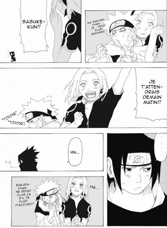 Doujin SasuSaku : Hair Dryer