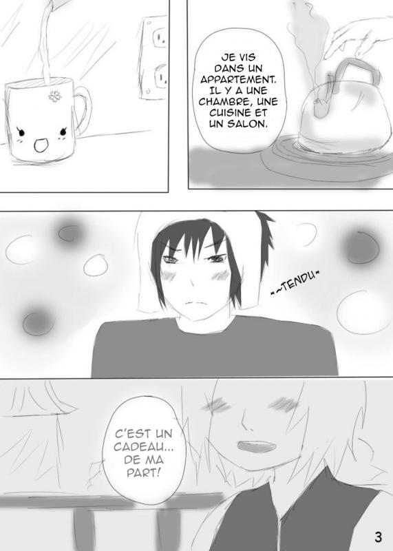 Doujin SasuSaku : Different